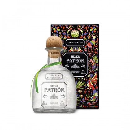 Patron Silver Limited Edition Black Box